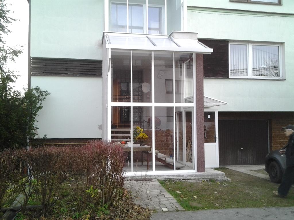 Verglasung der terrasse und der veranda hniezdne pifema for Veranda englisch