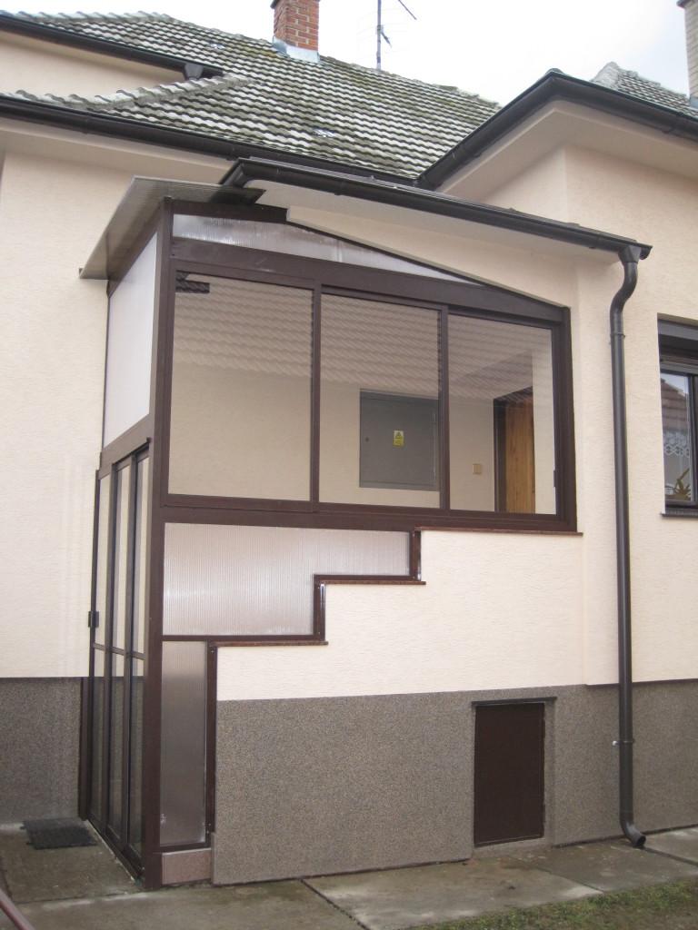 Verglasung der terrasse und der veranda stara tura for Veranda englisch