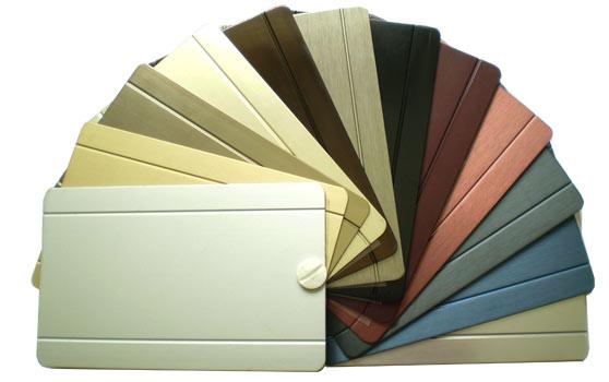 Farebné variácie