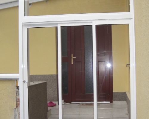 Verglaste veranda zohor pifema s r o - Trennwand schiebesystem ...