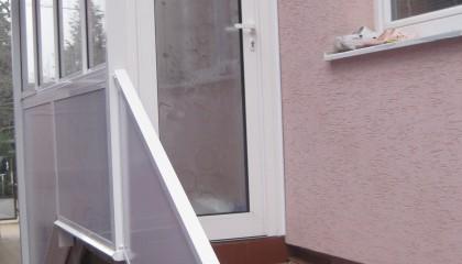 Balkonverglasung und aluminiumkonstruktion familienhaus ru omberok pifema s r o - Trennwand schiebesystem ...