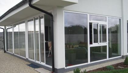 Opláštenie terasy, rodinný dom, Galanta