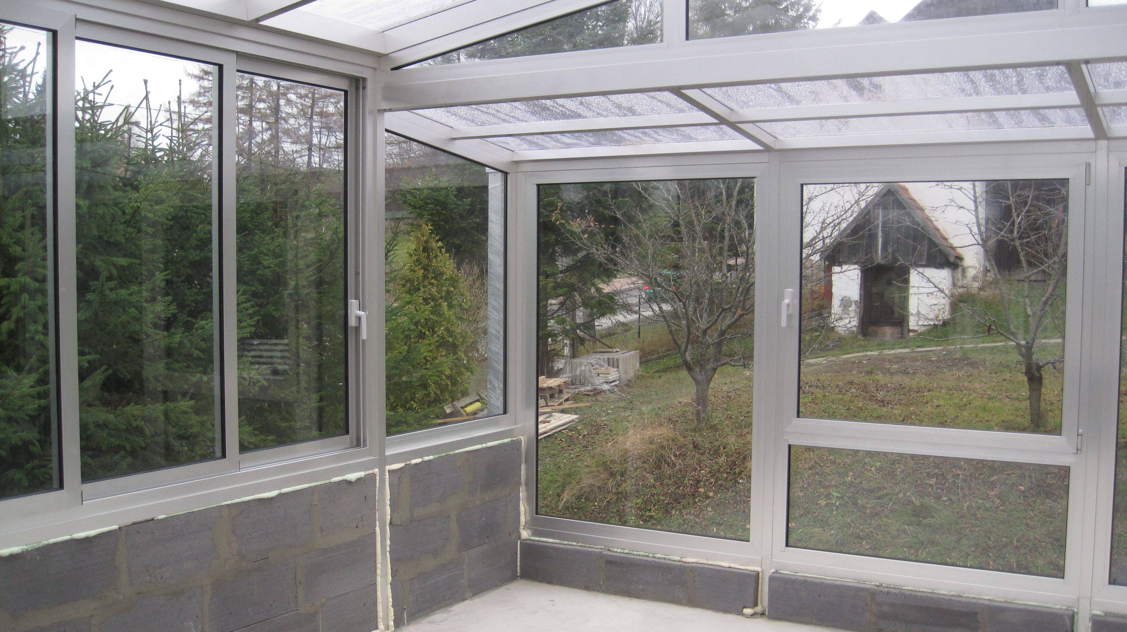 Aluminum Summer Conservatory And Extension For Car Trba