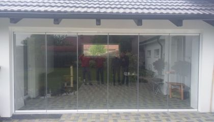 Opláštenie altánu / terasy Martin-Sučany