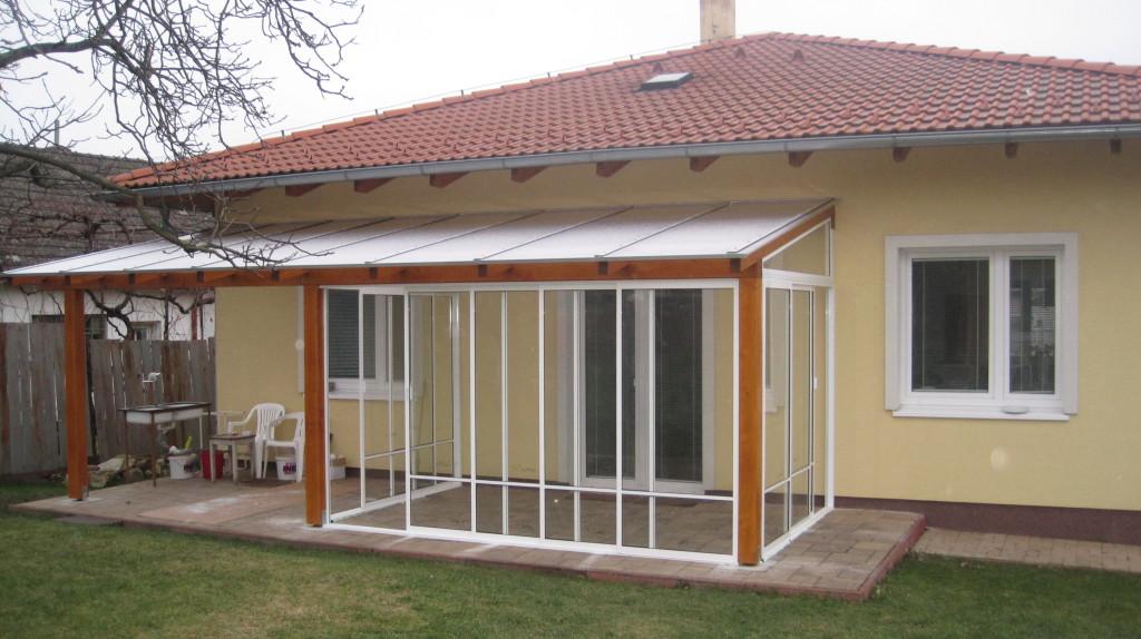 Prächtig Umhüllung und Verglasung der Terrasse / Sommergarten Jablonové &JH_66
