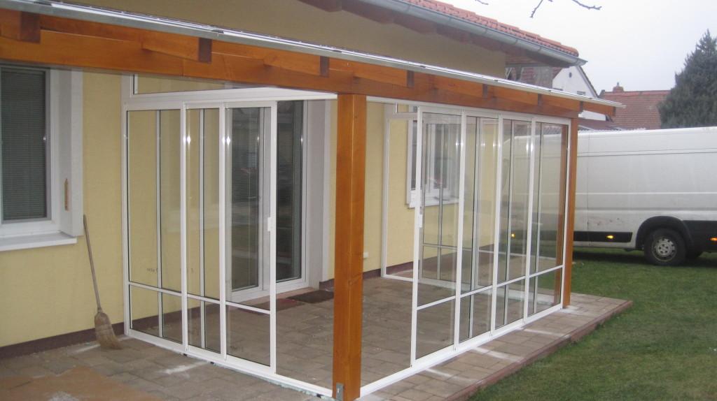 Top Umhüllung und Verglasung der Terrasse / Sommergarten Jablonové &DN_47