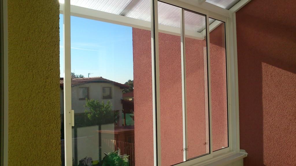 Dachverglasung und verglasung des balkons in einem mehrfamilienhaus bratislava rovinka pifema - Trennwand schiebesystem ...