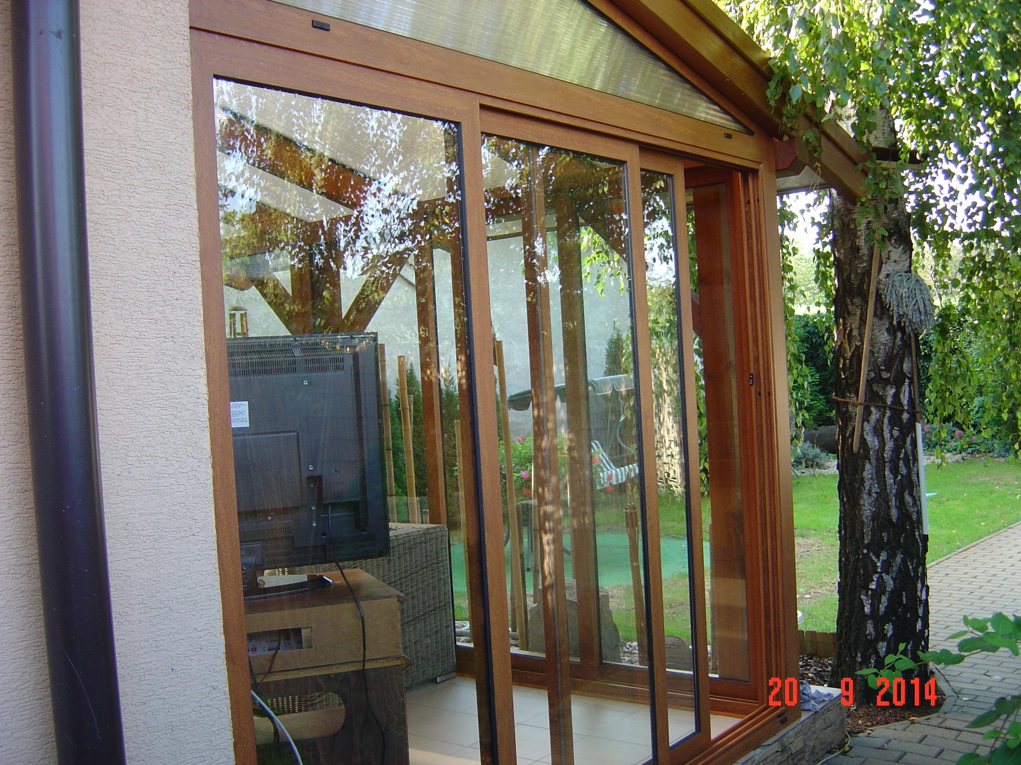 Umhüllung Und Verglasung Der Terrasse - Pifema S.r.o. Verglaste Terrasse Oder Veranda
