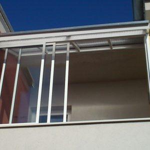 Prestrešenie a zasklenie balkóna Bratislava-Rovinka