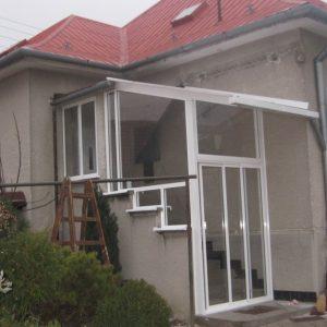 Zasklenie a realizácia verandy Stará Turá