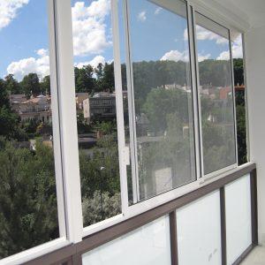 Zasklenie balkóna, Bratislava- Karlova Ves