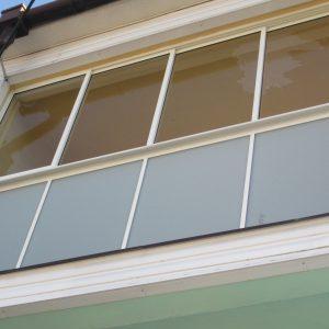 Zasklenie balkóna, Rámový posuvný systém, Dubnica nad Váhom