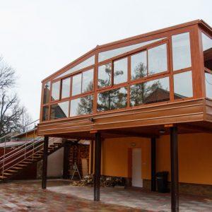 Hliníková zimná záhrada, celková realizácia a zasklenie, Poprad