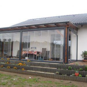 Zasklenie terasy Poprad - Jánovce