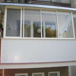 Zasklenie balkóna, Dubnica nad Váhom, Rámový posuvný systém