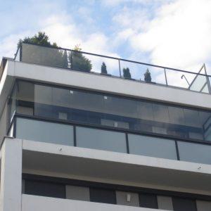 Zasklenie balkóna, Bratislava Rača