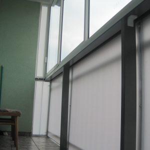 Zasklenie balkóna, Rámový posuvný systém Expodul, Trenčín