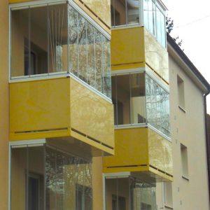 Zasklievanie balkónov a balkónové okná - Martin