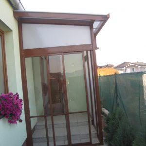Zasklenie verandy, Košice